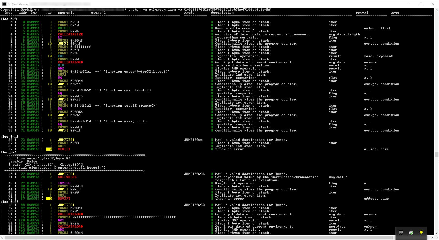 GitHub - tintinweb/ethereum-dasm: An ethereum evm bytecode