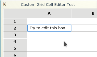 Selected text is not highligthed in Grid Cell element on