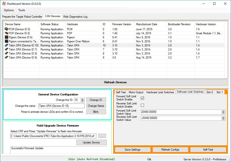 GitHub - CrossTheRoadElec/Phoenix-diagnostics-client