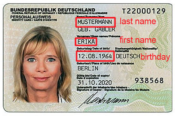 how to find passport unique id