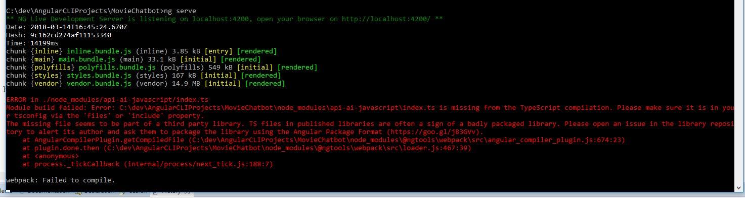 Typescript compilation error · Issue #80 · dialogflow/dialogflow