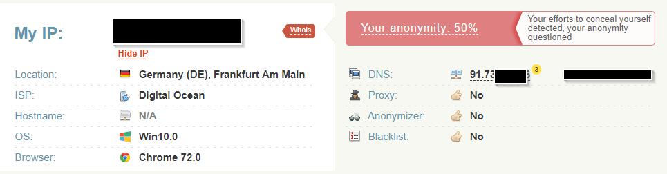 Windows VPN CLient DNS Resolve still showing my local