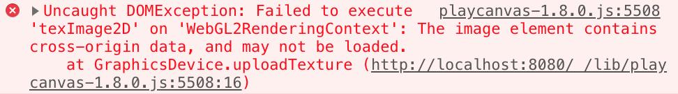 AssetRegistry can't load cross-origin data · Issue #1451