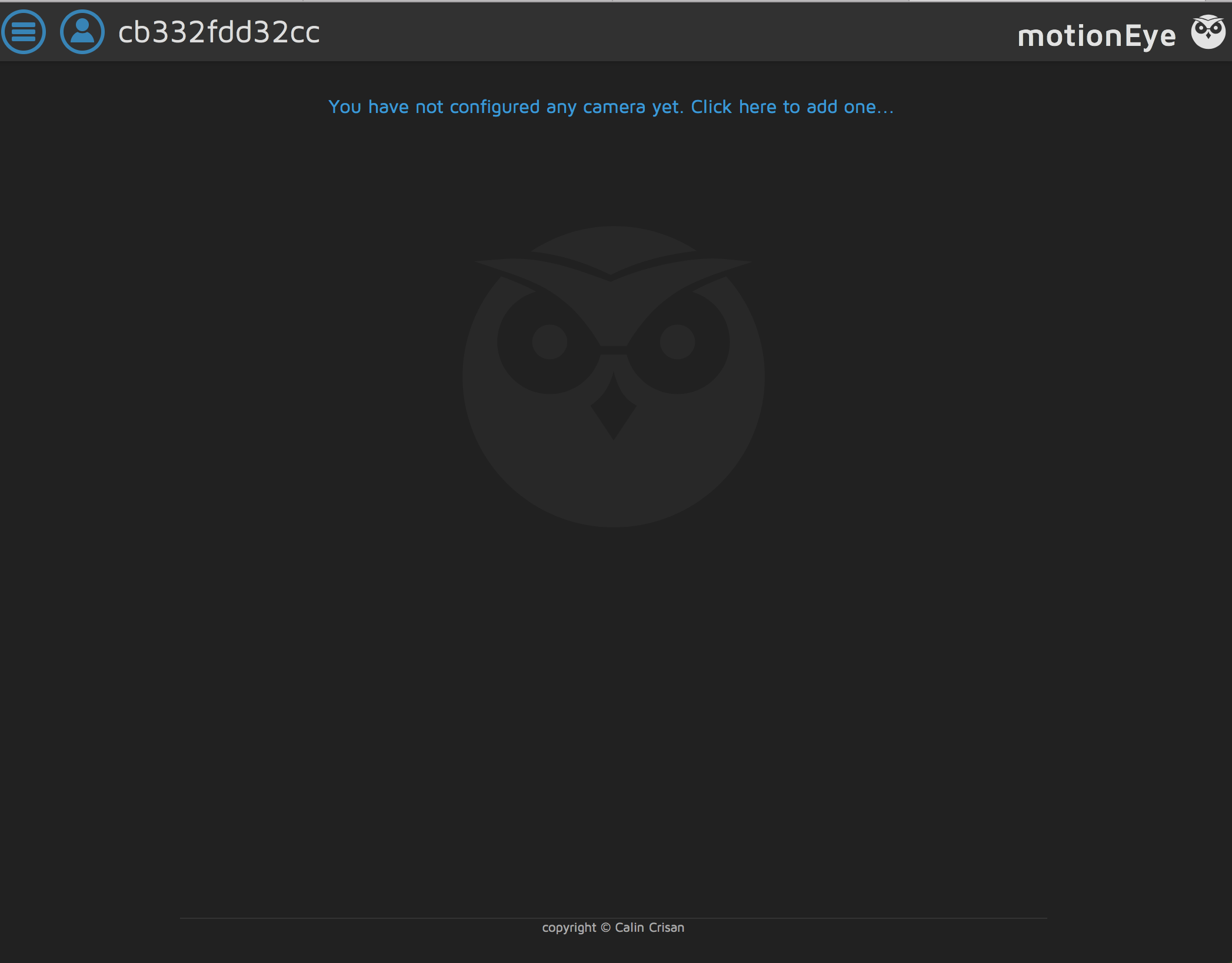 Connecting MotioneyeOS Camera to Motioneye Hub · Issue #970