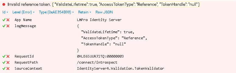 Invalid reference token · Issue #2345 · IdentityServer