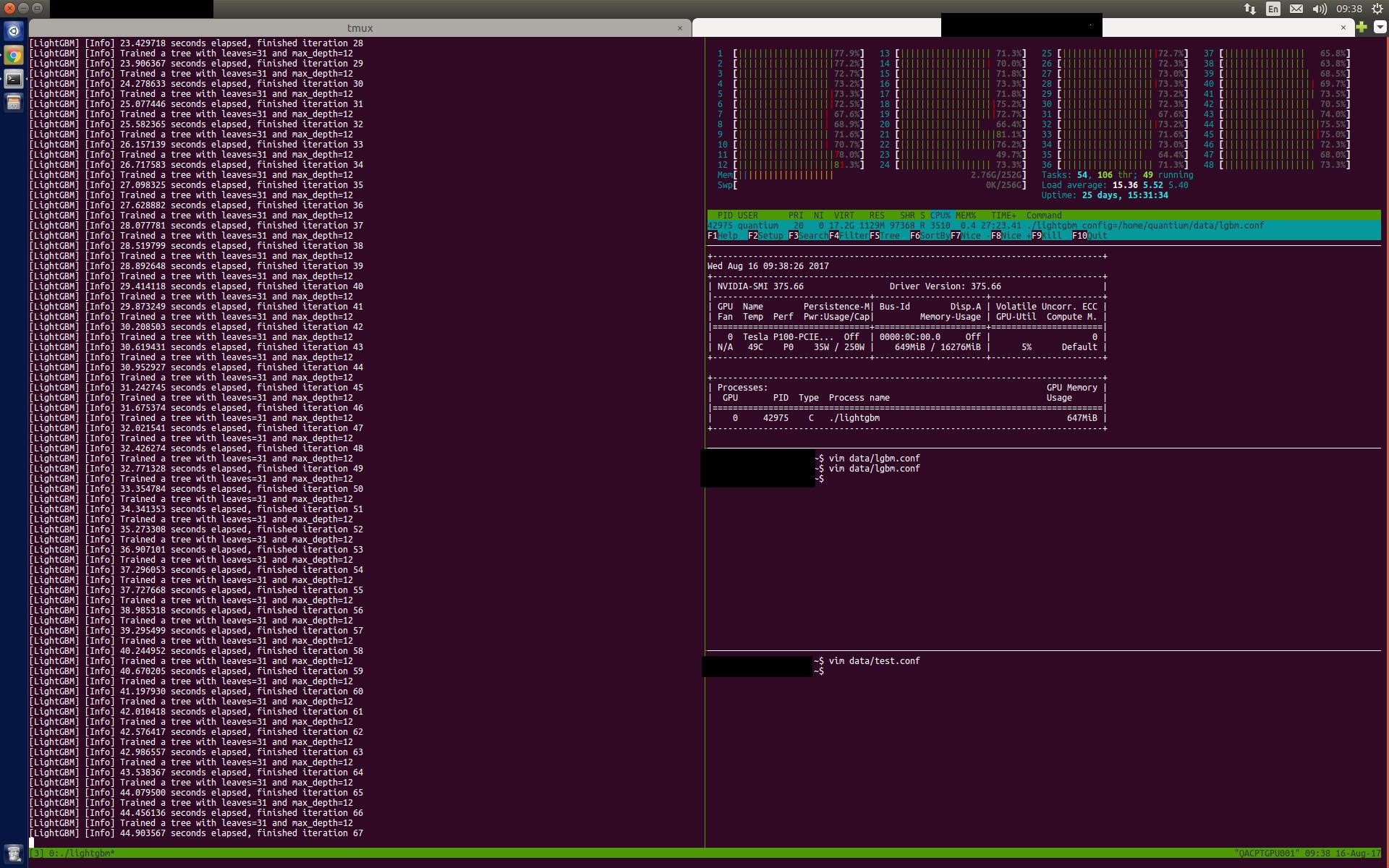 Training on GPU does not utilise GPU properly · Issue #836