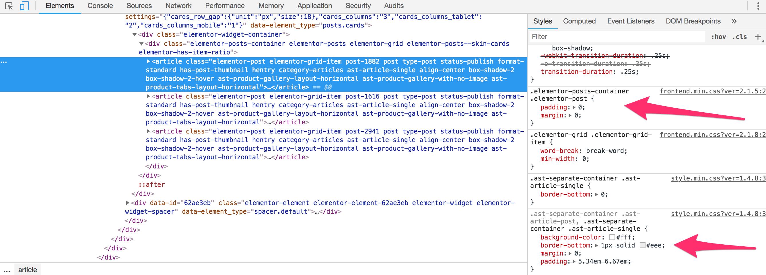 bug] Update to Elementor 2 1 7  breaks Posts widget · Issue