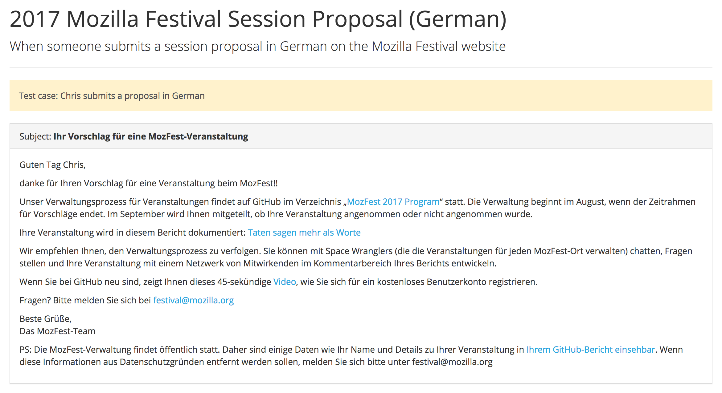 Localize the automated reponse email · Issue #602 · mozilla ...