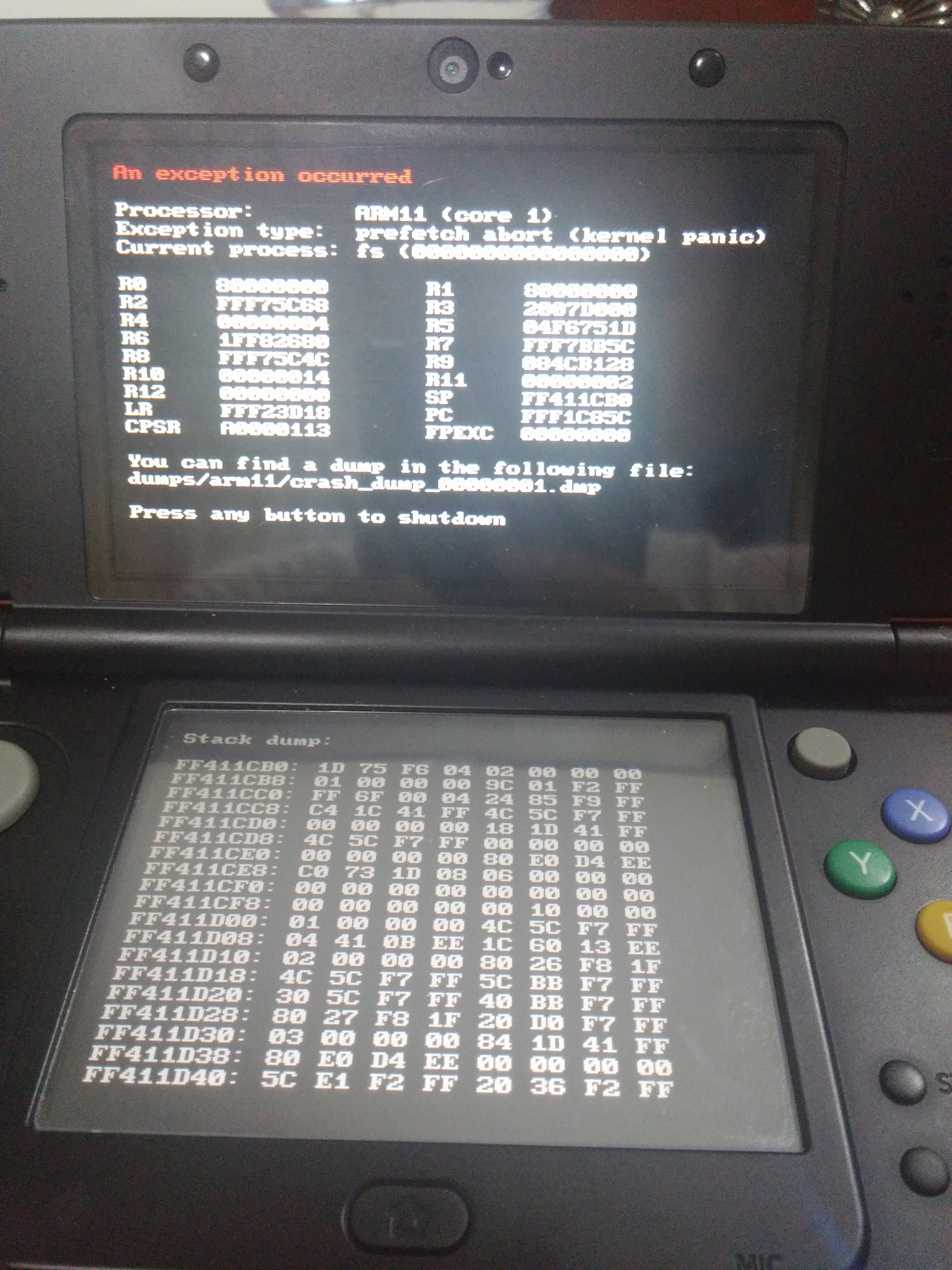 3DS : PCSX-rearmed,FBA2012,MAME crashes when loading a large file