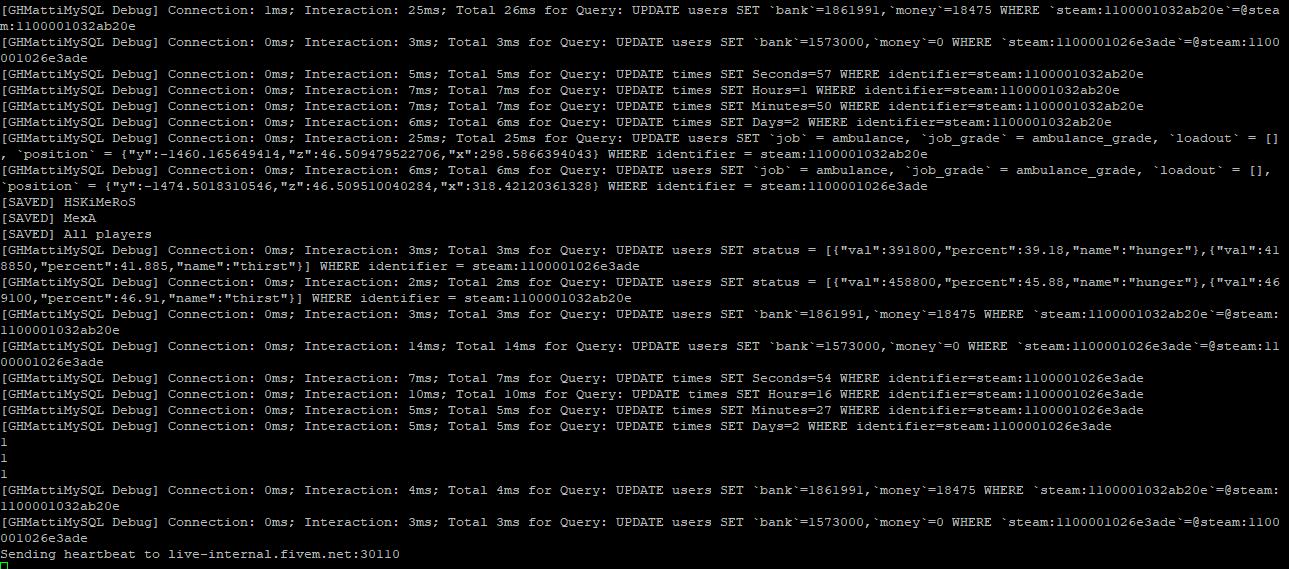 It is compatible with esx? · Issue #6 · GHMatti/FiveM-MySQL · GitHub