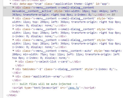 Bug Report] Dont delete v-dialog elements from DOM after