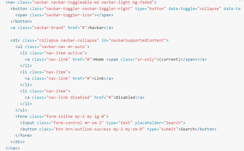 bootstrap navbar submenu hover example