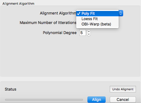 Peak Grouping Alignment