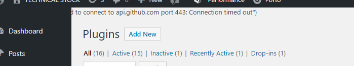 Failed to connect to github com port 443: connection refused · Issue
