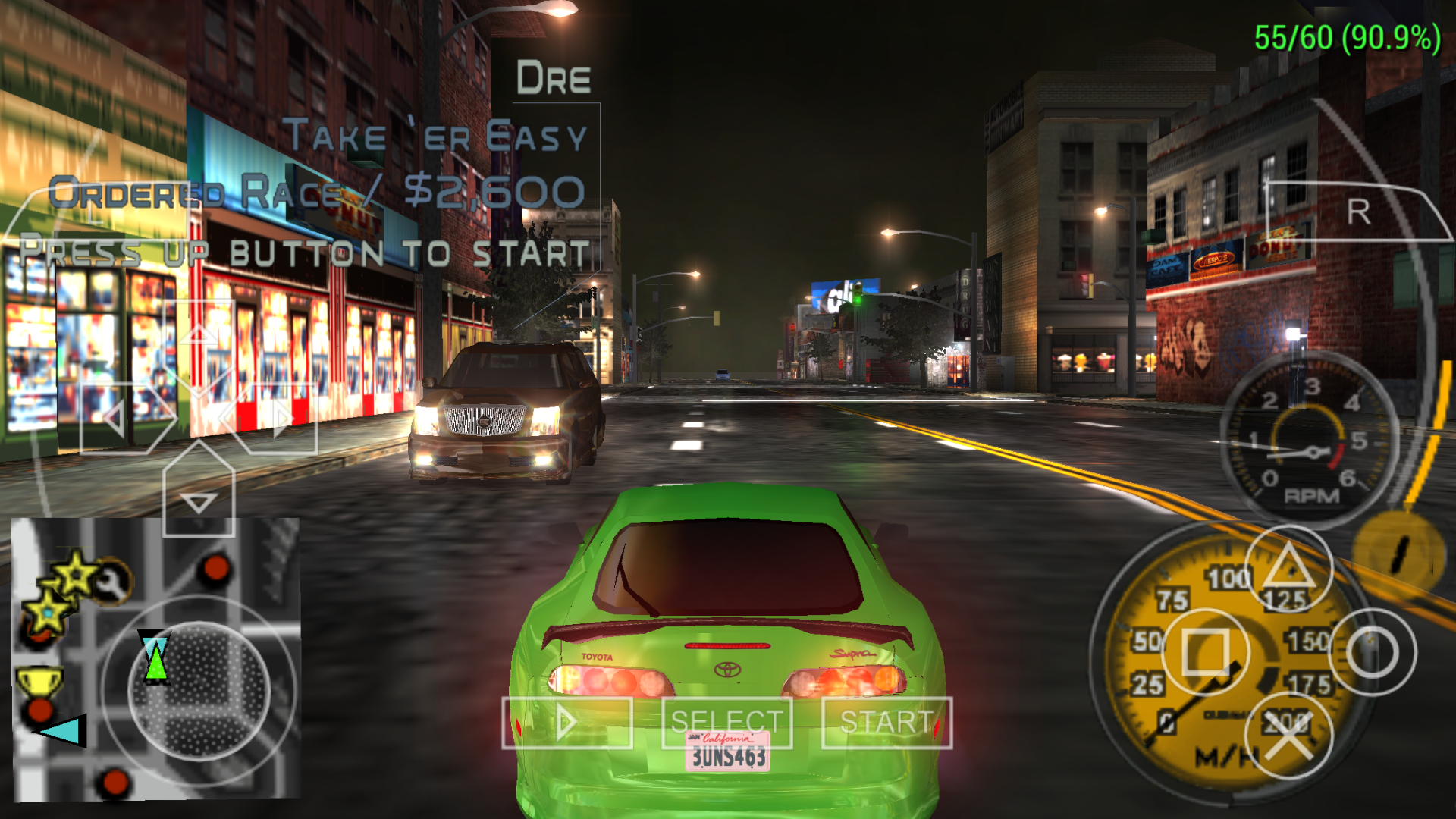 Midnight Club 3 graphics glitches · Issue #10473 · hrydgard/ppsspp