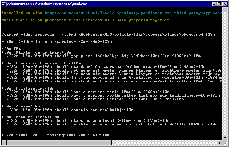Windows 7 Console Tekst Is Unreadable Cause Of Special Chars Issue