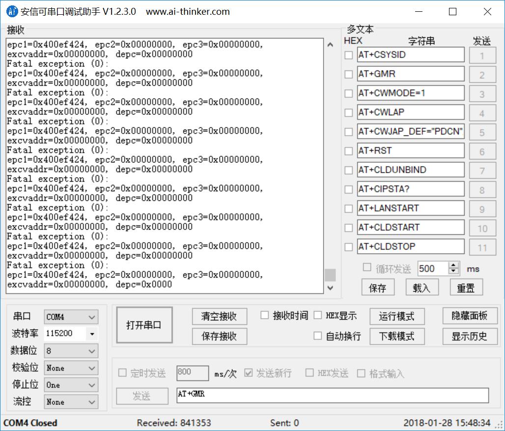 Fatal exception error with ESP_Easy_v2 0