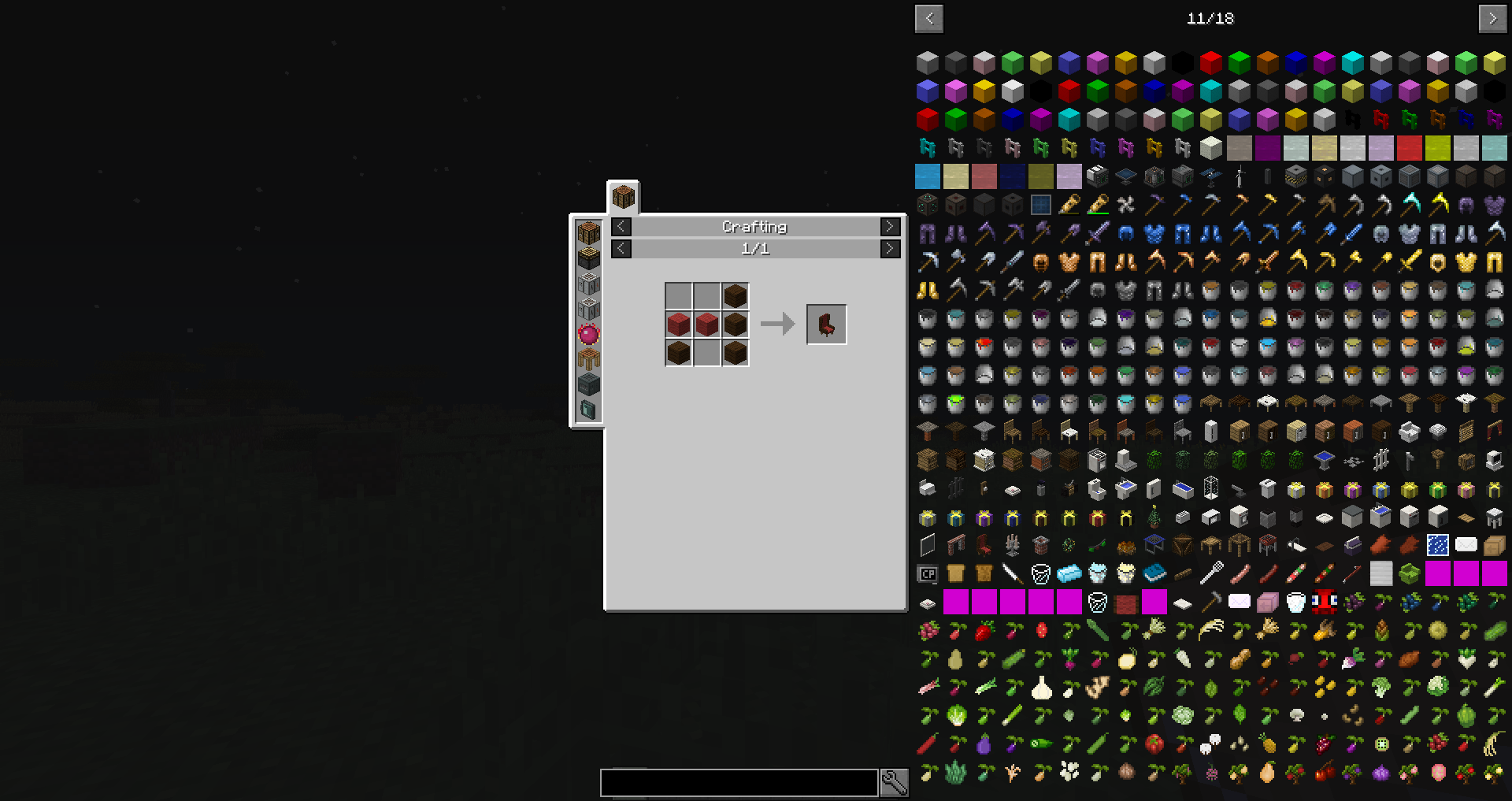 just enough items not working