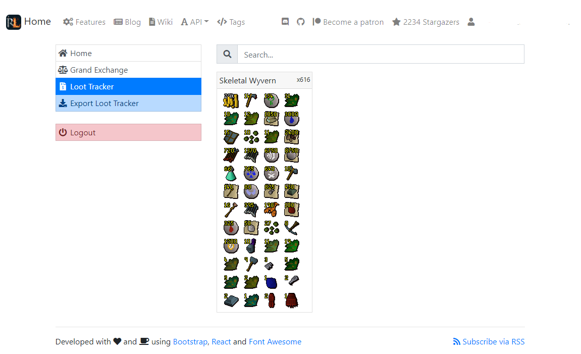 Loot Tracker · runelite/runelite Wiki · GitHub