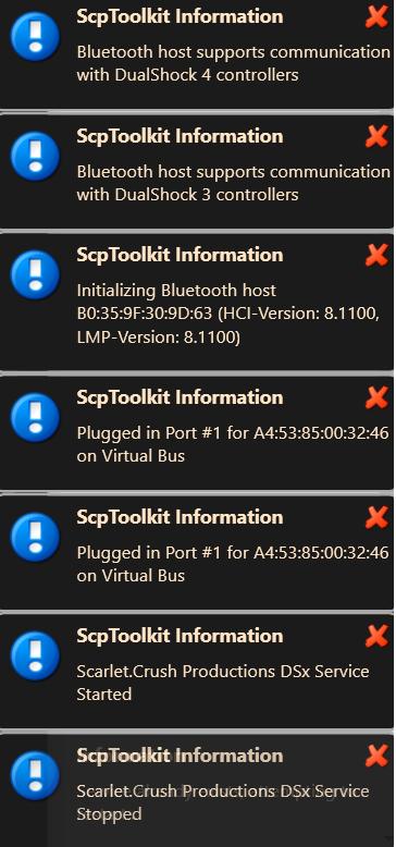 Very long error message · Issue #794 · nefarius/ScpToolkit