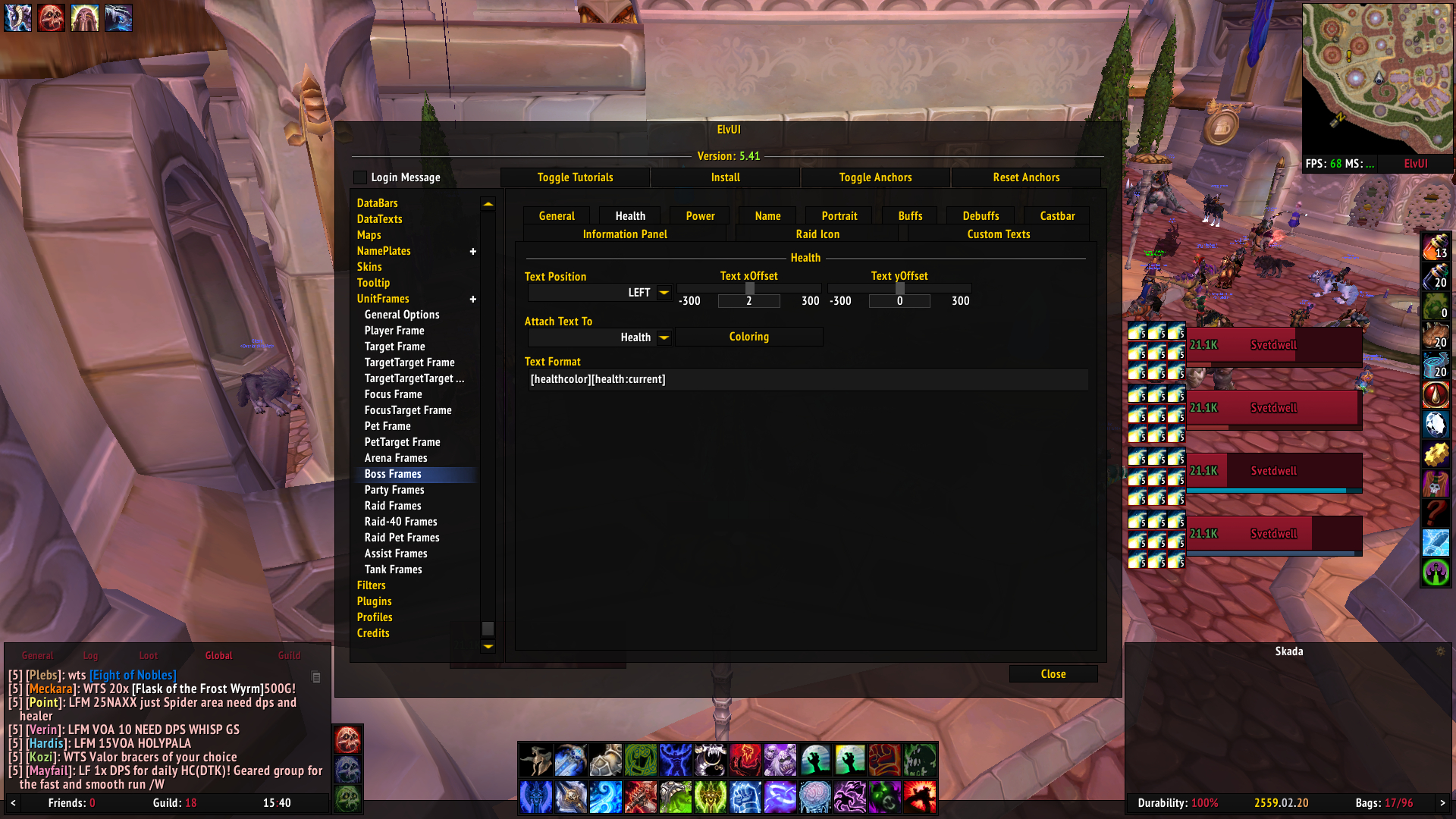 Boss frame not working · Issue #511 · ElvUI-WotLK/ElvUI · GitHub