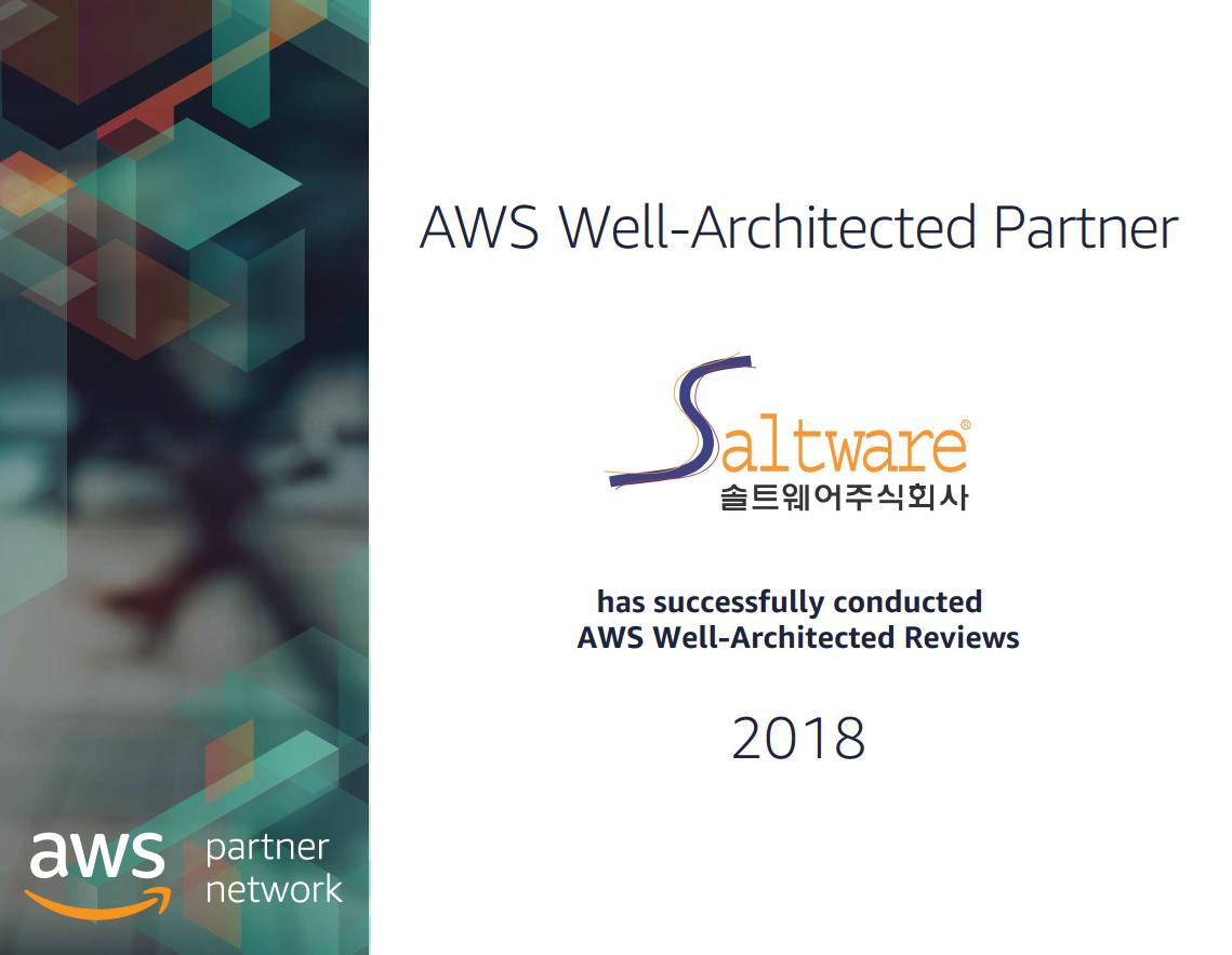 AWS Well-Architected Partner Program Certificate