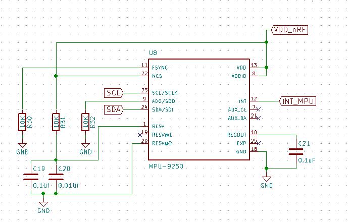 Ground plane under the chip · Issue #43 · kriswiner/MPU9250