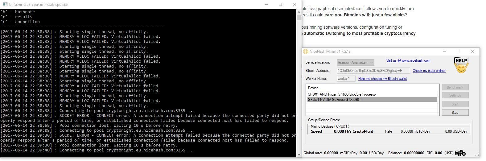 Cryptonight Gpu Miner Linux Amd Cryptonight Job Timeout