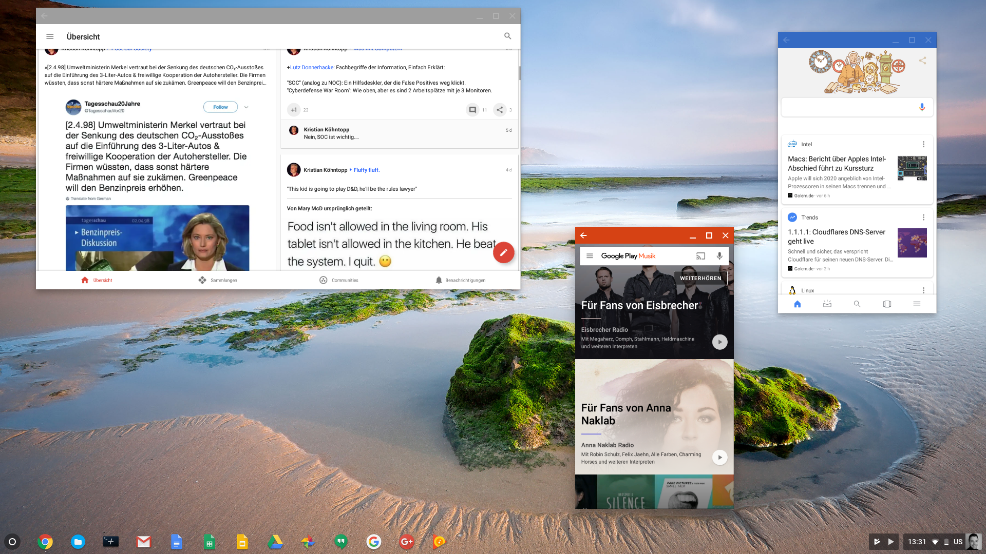 Chrome OS w/ Android + Vulkan works on regular PC · Issue
