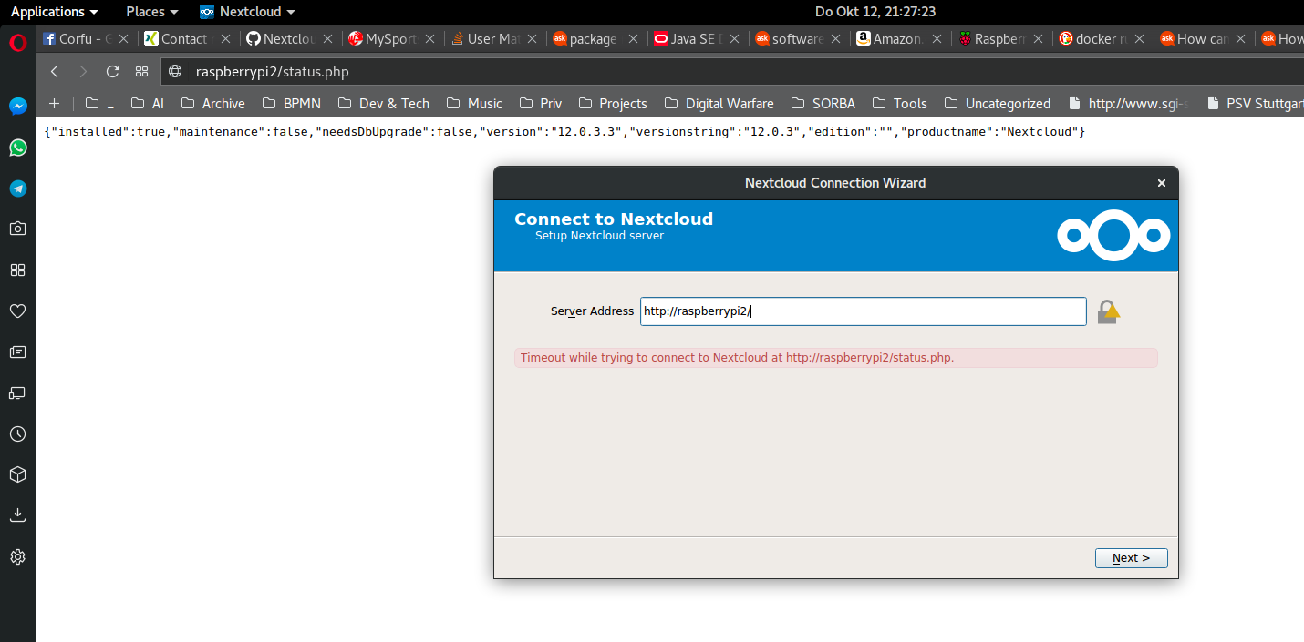 install php client ubuntu server