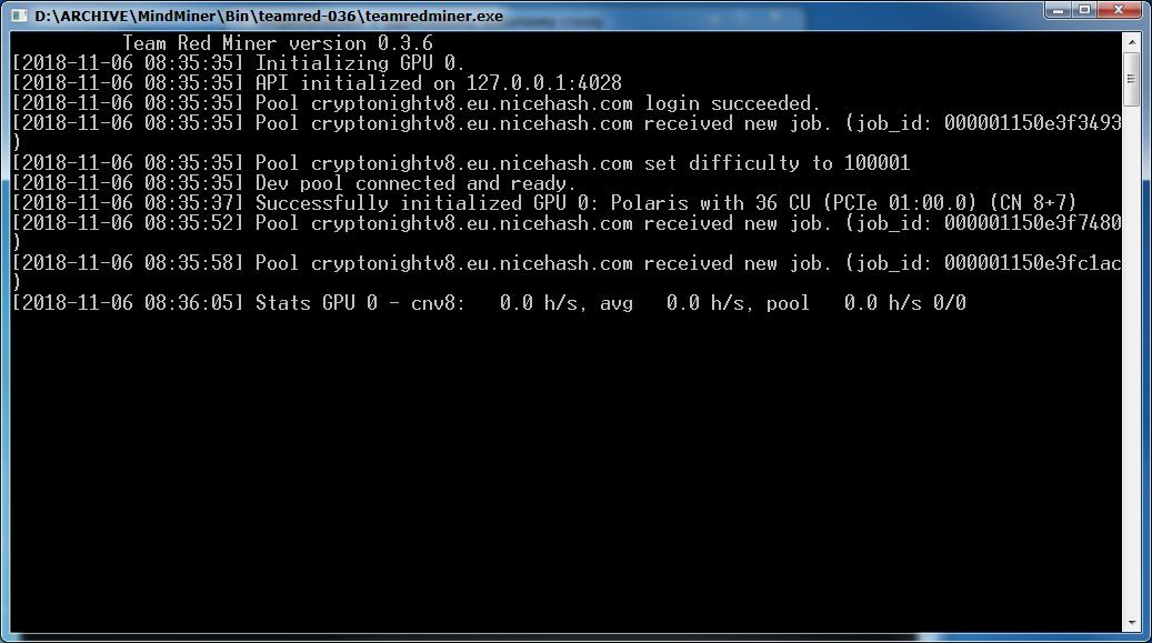 Team Red cn v8 RX560+RX580 crash · Issue #7 · todxx/teamredminer