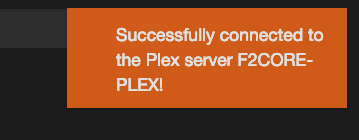 Not connecting / Syncing to Plex Server · Issue #2866 · tidusjar