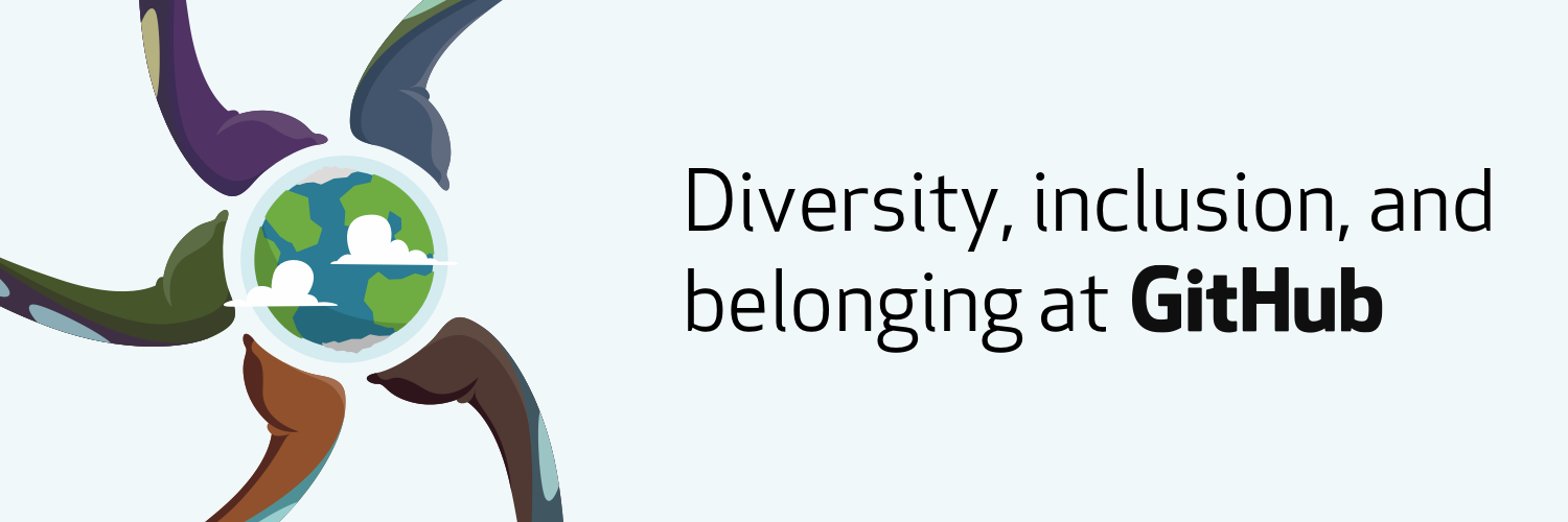 Diversity, inclusion, and belonging at GitHub in 2018 logo
