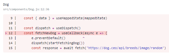 React Devtools are crashing when selecting a Component using