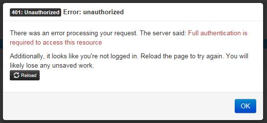 APIs responses with 401 unauthorized · Issue #1105 · mitreid