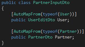 AutoMapper AutoMapperMappingException: Missing type map