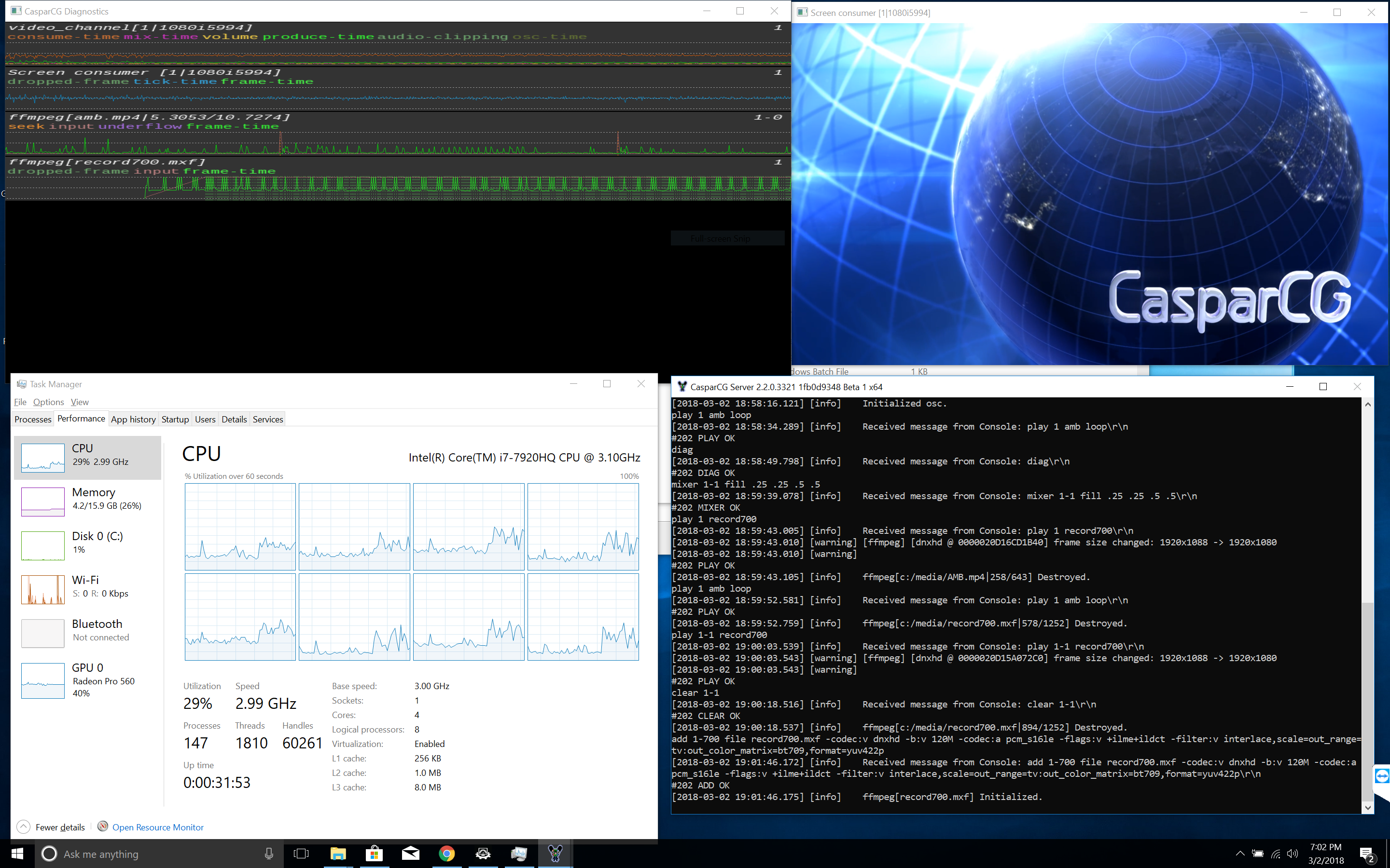 ffmpeg consumer slow colorspace transform on i59 · Issue