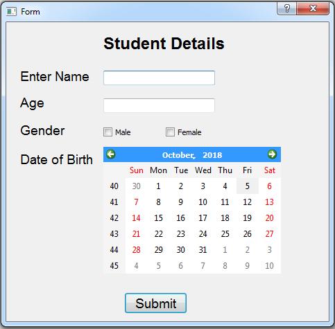 GitHub - abhishek305/Pyqt5-Student-Registartion-Form: Pyqt5
