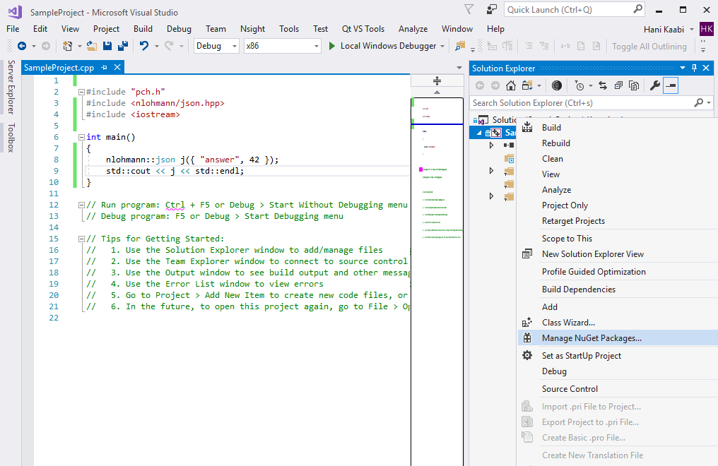 NuGet Package · Issue #1132 · nlohmann/json · GitHub