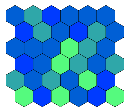 Question]: Plot the exact number of hexagons using hexbin · Issue
