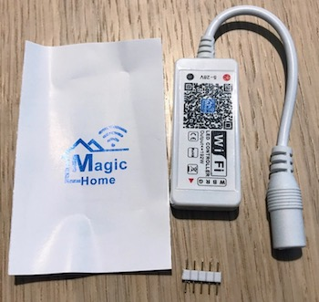 MagicHome LED controller pads