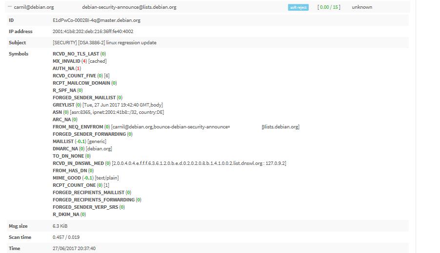 Disable Greylisting · Issue #413 · mailcow/mailcow-dockerized · GitHub