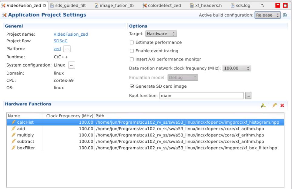 Error building xfOpencv application using Zedboard · Issue