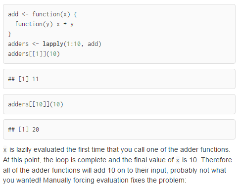 First lazy evaluation example is unclear · Issue #837