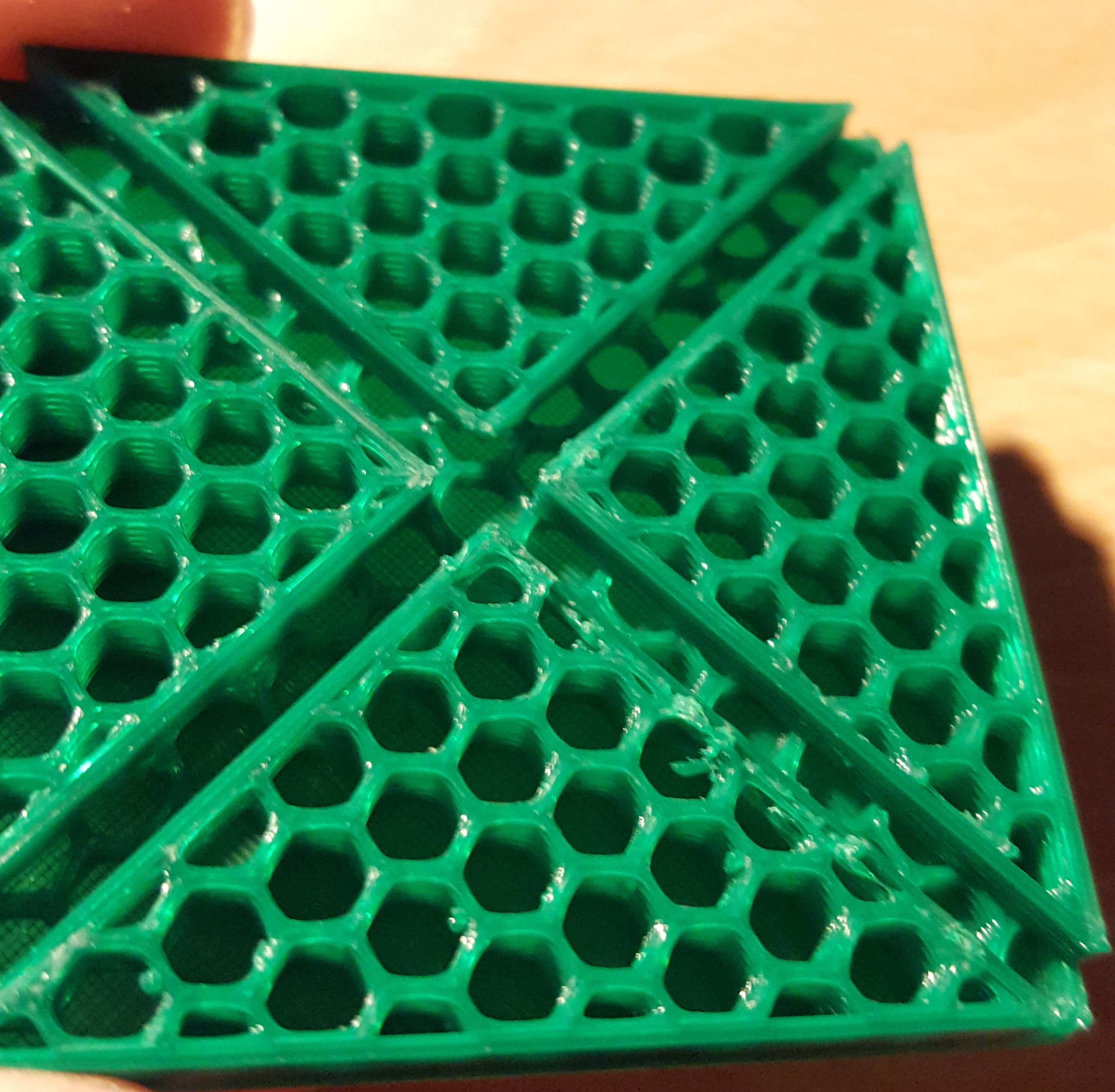 Feature Request: New honeycomb infill pattern · Issue #2069