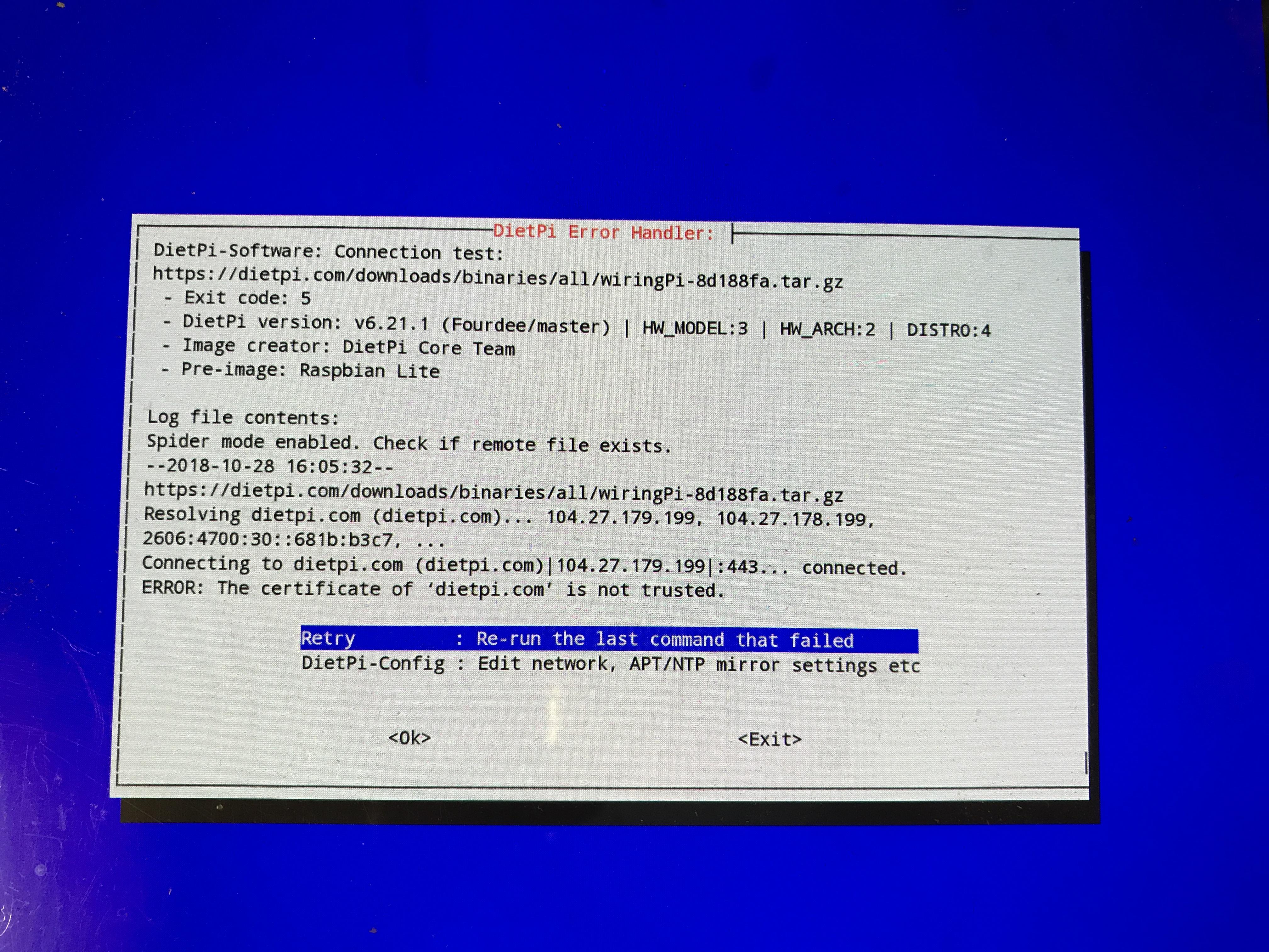 Marvelous System Apt Certificate Error Issue 2612 Michaing Dietpi Github Wiring Digital Resources Antuskbiperorg
