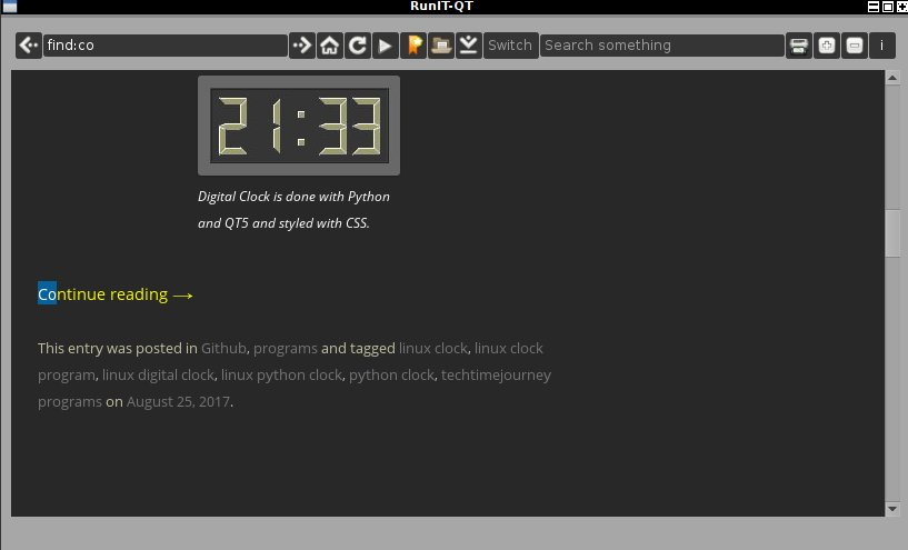GitHub - postman721/RunIT-QT-Browser: Python QT5 web browser