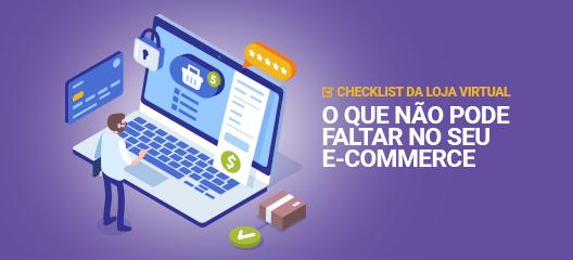 Checklist da loja virtual