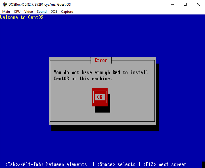 Experimenting] Linux within DosBox-X within Linux · Issue