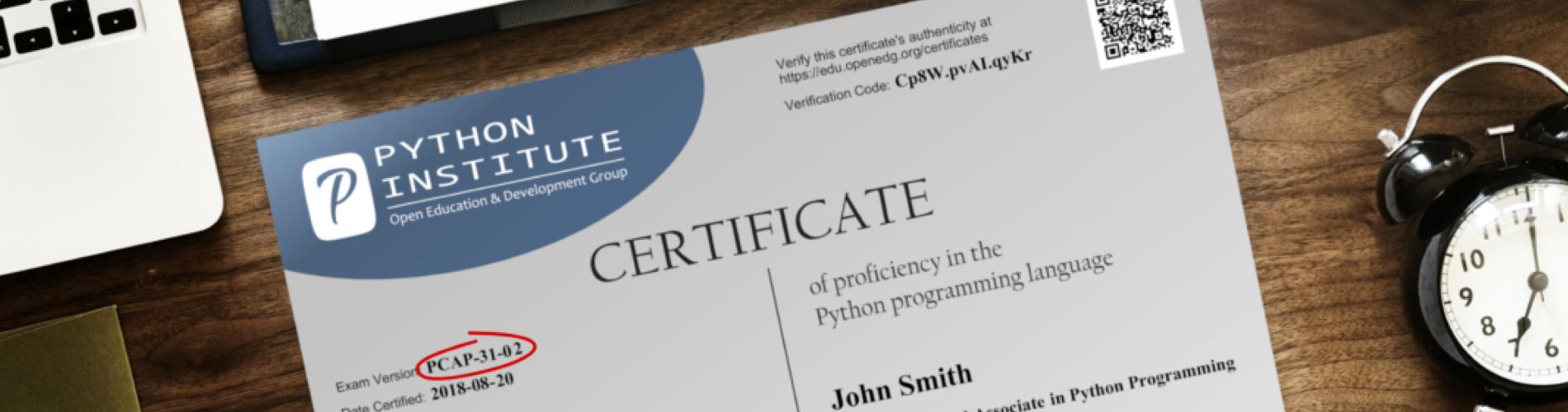 Python Certs feature image